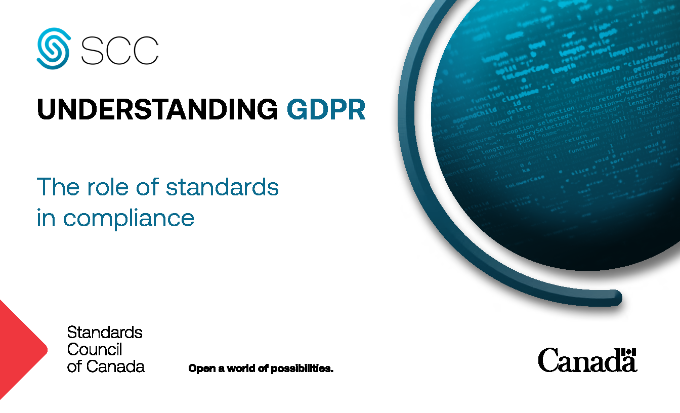 Understanding GDPR - The role of standards in compliance
